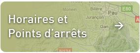 horaires et points d'arrets transports scolaires Béarn et 64
